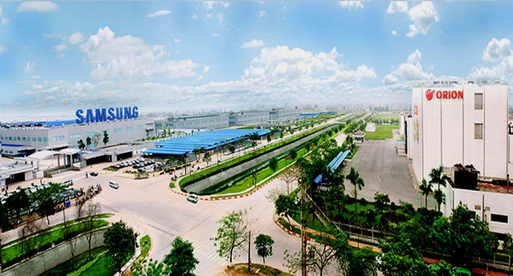 Khu công nghiệp Yên Phong Bắc Ninh